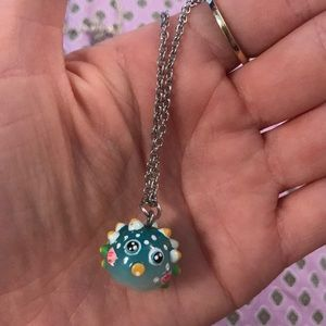 Funny Puffer Fish Necklace